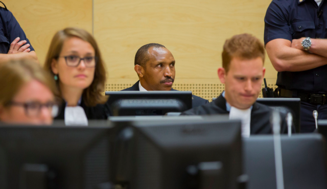 Bosco Ntaganda plead not guilty earlier this week at the International Criminal Court (Photo: ICC)
