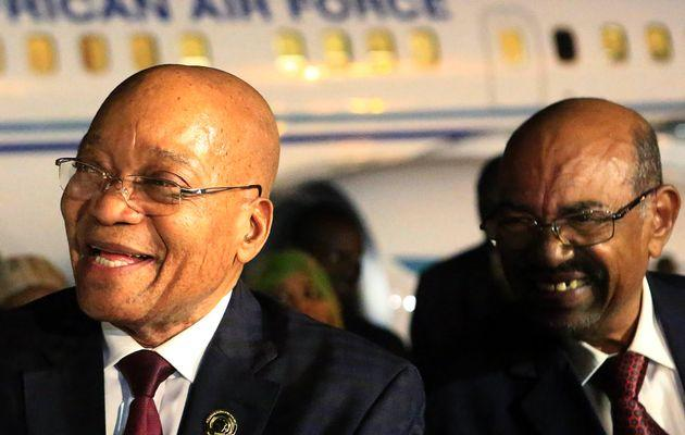 South African President Jacob Zuma with his Sudanese counterpart Omar al-Bashir (Photo: Mohamed Nureldin Abdallah / Reuters)