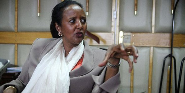 Kenyan Foreign Minister Amina Mohamed (Photo: AFP)