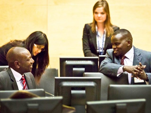 William Ruto and Joshua Arap Sang (Photo: ICC)