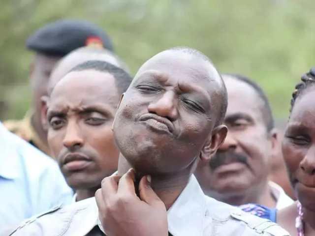 Kenyan Deputy President William Ruto (Photo: Tuko)