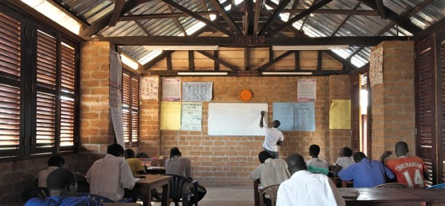 A training centre for former child soldiers in northern Uganda (Photo: Article 25 http://www.article-25.org)