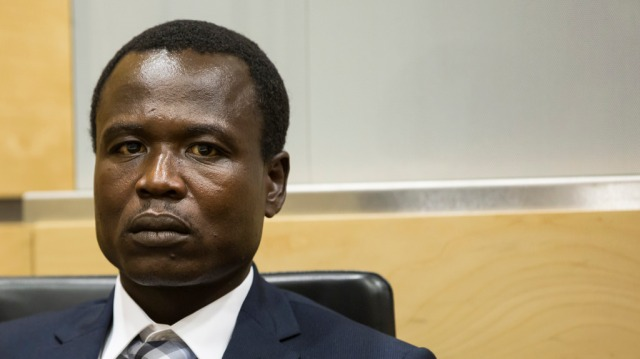 Dominic Ongwen during proceedings at the International Criminal Court (Photo: ICC)