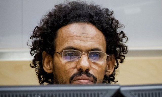 Ahmad al Faqi al Mahdi during proceedings at the International Criminal Court (Photo: ICC)