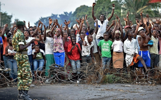 Violence has ravaged Burundi since the President sought a third term (Photo: Al Jazeera)