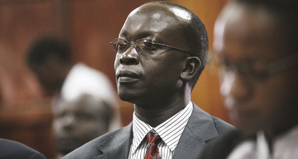 Walter Barasa is among those charged by the ICC with interfering with witnesses in the case against Uhuru Kenyatta (Photo: Standard Media)